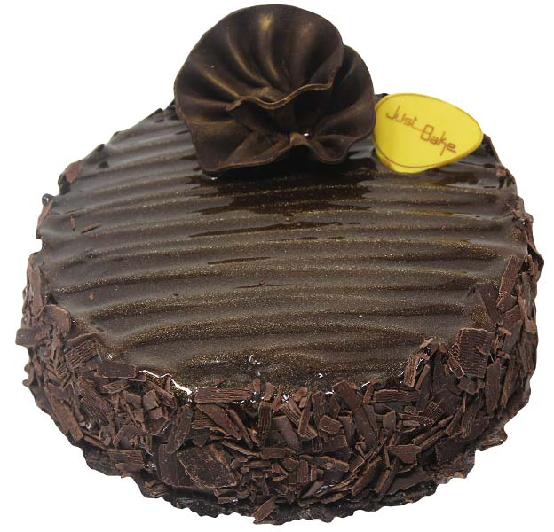 Dark Brown Cake Small