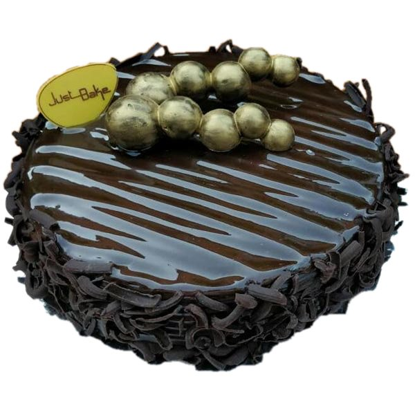 Dark Brown Large Cake