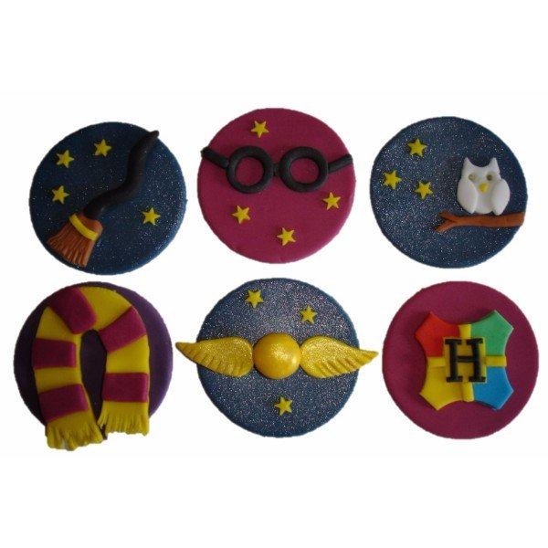 Harry Potter CupCakes (Set of 6pc)