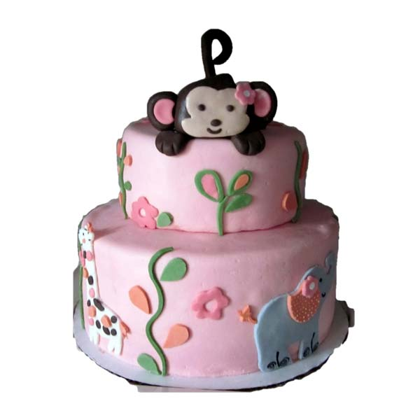 1st Birthday Theme Cake NM48