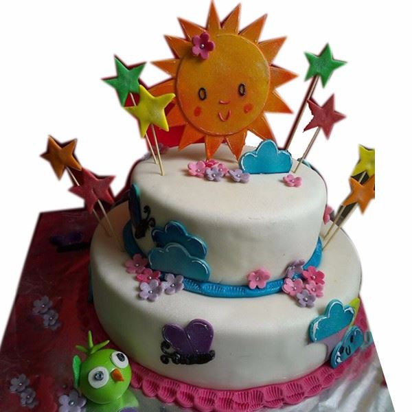 Welcome Sunshine Cake Cream_Fondant