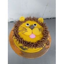 Animal Theme Cake 17 Lion 2.5kg
