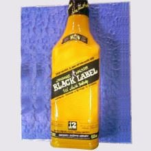 Black Label Cake