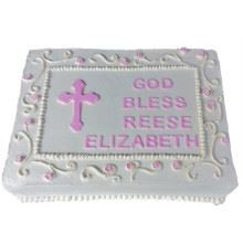 Communion Cake-01-2kg Cream_Fondant