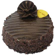 Dark Brown Cake Large