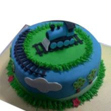 Engine On the Go Cake