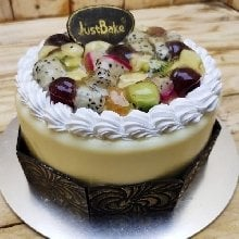 Fresh Fruit Gateaux Cake