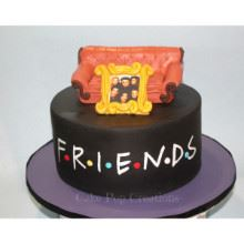 Friendship Theme Cake-01-2.5Kg