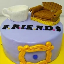 Friendship Theme Cake 2Kg