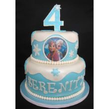 Frozen Theme 2tier Cake-04-4Kg
