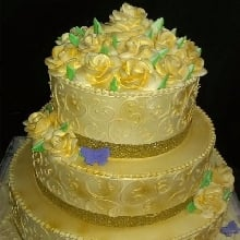 Glamour Yellow Cake