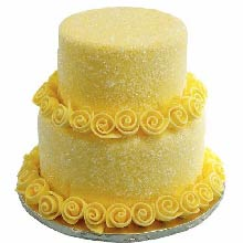 Mellow Flowers Cake