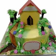 My Village Home Cream Finish Cake