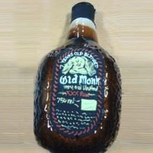 Old Monk Cream Finish Cake