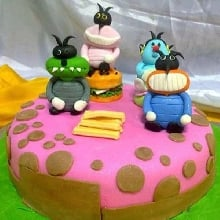 Oogy Cockroaches Cake