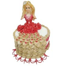 Princess Cake 3kg Cream Finish