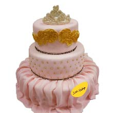 Princess Cake Fit For A Queen Fondant