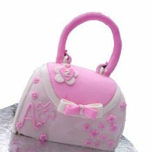 Stylish Handbag Fondant Cake