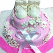 White Angel Cake Fondant